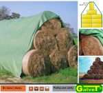 Fliz to cover the straw stacks, bulk stored grain, beet mound and other 9.80 x 12.50m