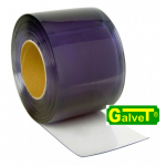 PVC curtain in a roll, 50 m x 30 cm x 3 mm