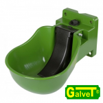 Plastic drinking trough K50, green